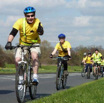 Martin Gammie et al Ride for Research 2011 lores