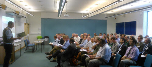 Dave Atkinson presenting to ICF regional group 12 September 2014