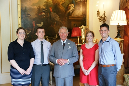 Forest Leaders with Prince of Wales