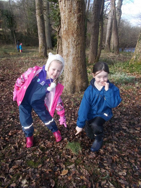 children ,learning, forest school